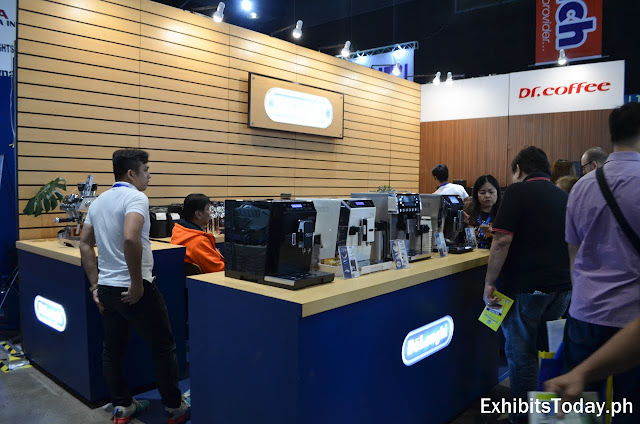 Dr. Coffee Exhibit Booth