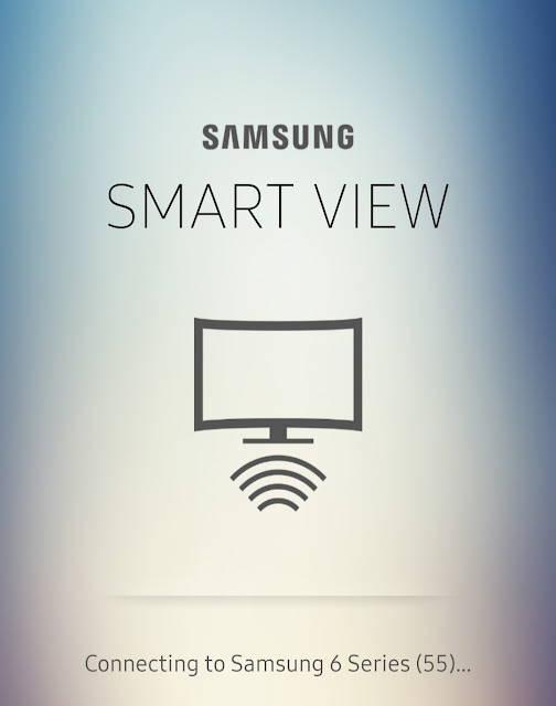 Connect Samsung TV with your phone via Smart View app