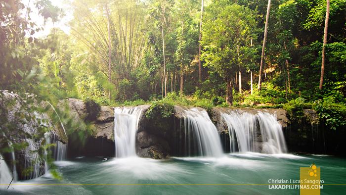 Cambugahay Falls Siquijor Third Level