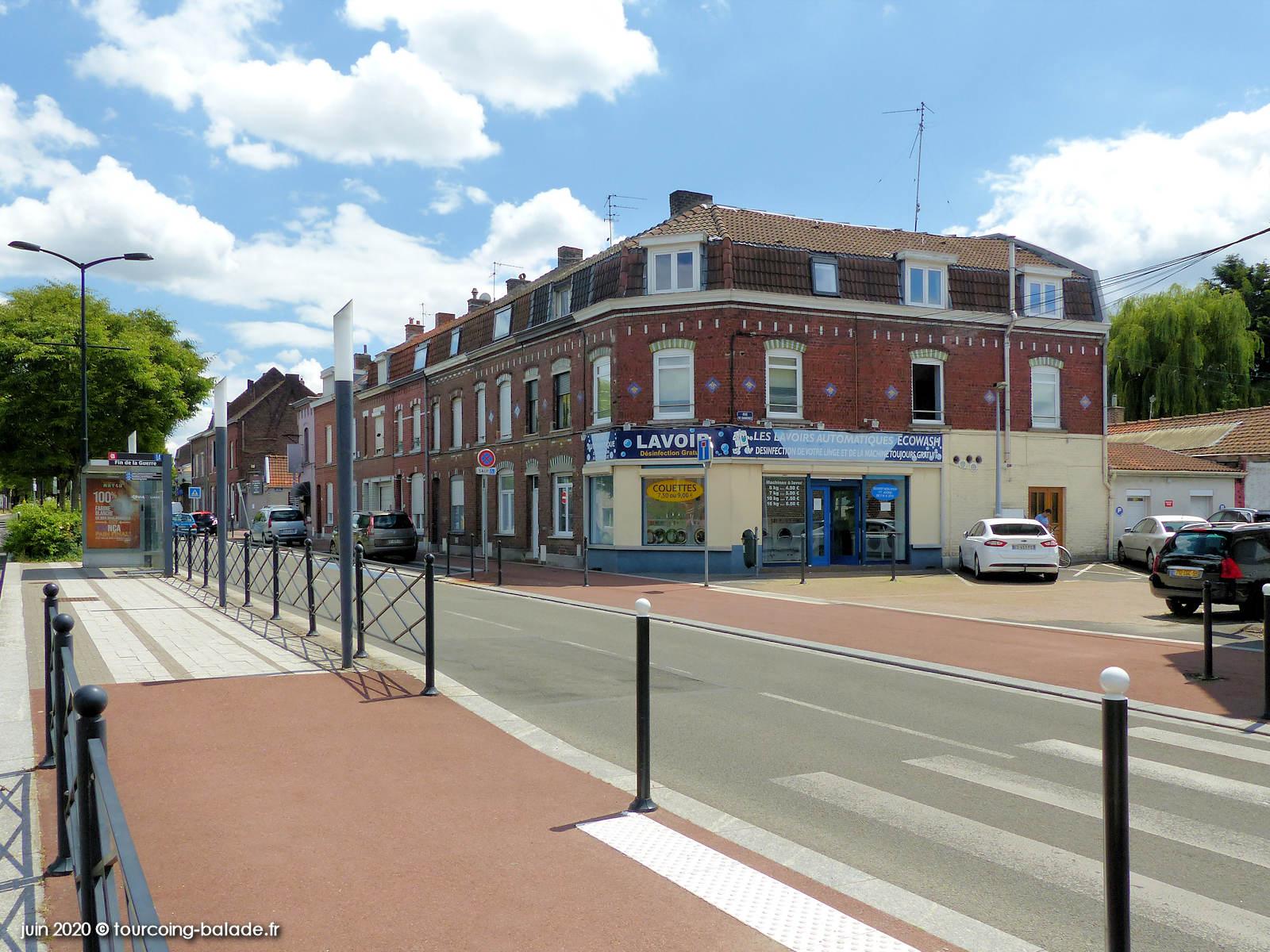 Avenue de la Fin de la Guerre, Tourcoing 2020