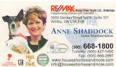 Anne Shaddock Brooklin Real Estate, Whitby, Oshawa, Courtice,Durham Region