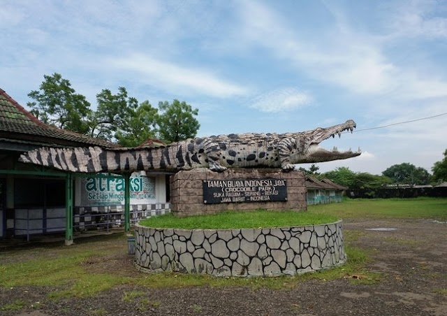 Crocodile Park atau Wisata Taman Buaya Indonesia di Kabupaten Bekasi