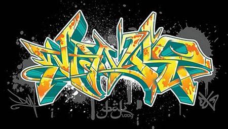 best graffiti 2011: 3D Alphabet Graffiti : Create your ...