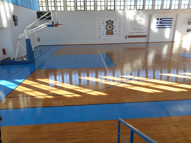 Ολοκληρώθηκαν οι εργασίες συντήρησης στο Κλειστό Γυμναστήριο Λυγουριού