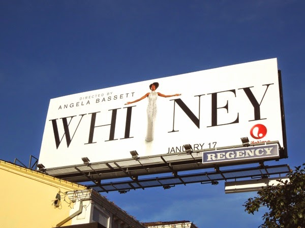 Whitney Lifetime movie billboard