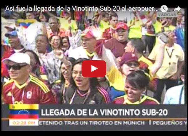 Vinotinto llega a Maiquetía y es recibida por militares y VTV