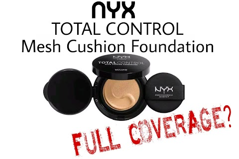 Review NYX Total Control Mesh Cushion Foundation - Classic Chesnut