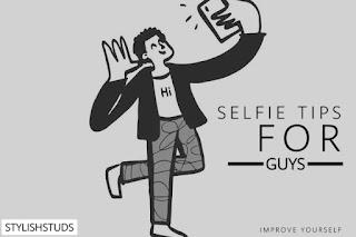 A anime guy taking selfie