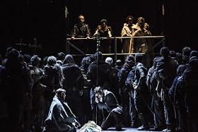 Verdi: Don Carlos - Opera de Lyon, Sally Matthews, Sergey Romanovsky, Jeanne Mendoce (Photo Jean Louis Fernandez)
