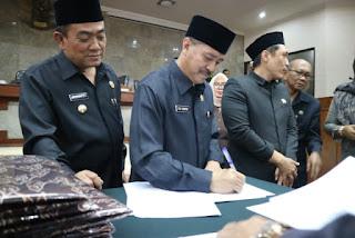 DPRD Kota Cirebon Setujui Perubahan Anggaran  2019
