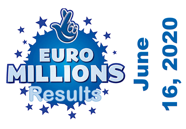 EuroMillions Results for Tuesday, June 16, 2020