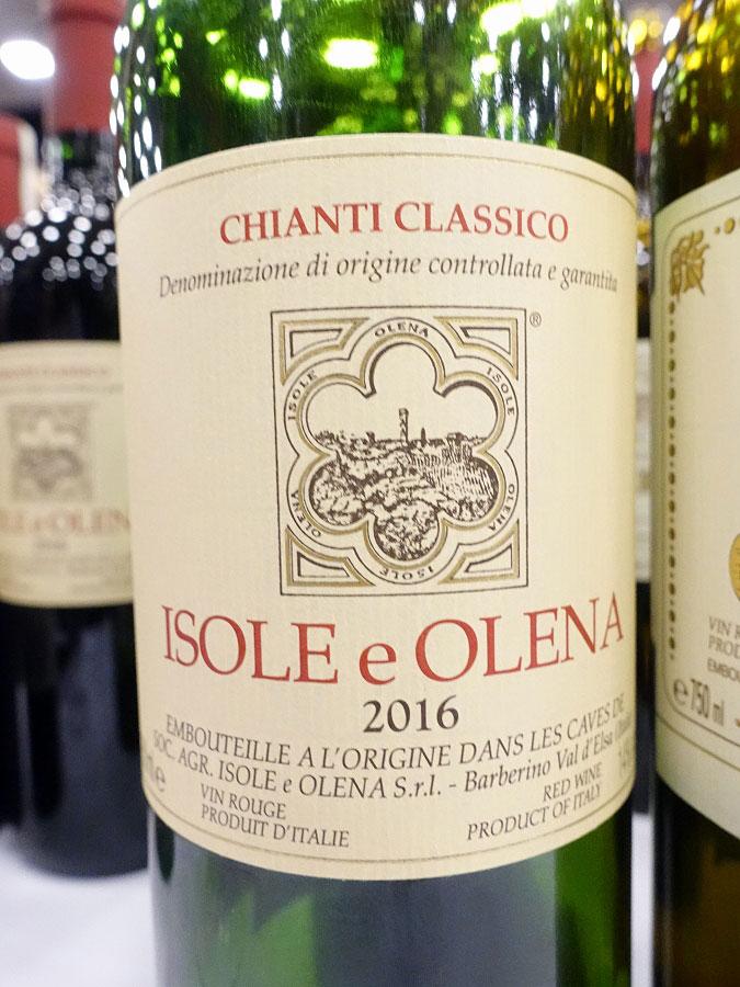 Isole e Olena Chianti Classico 2016 (92 pts)