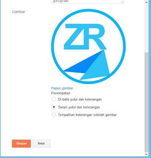 Memasang logo di blogger
