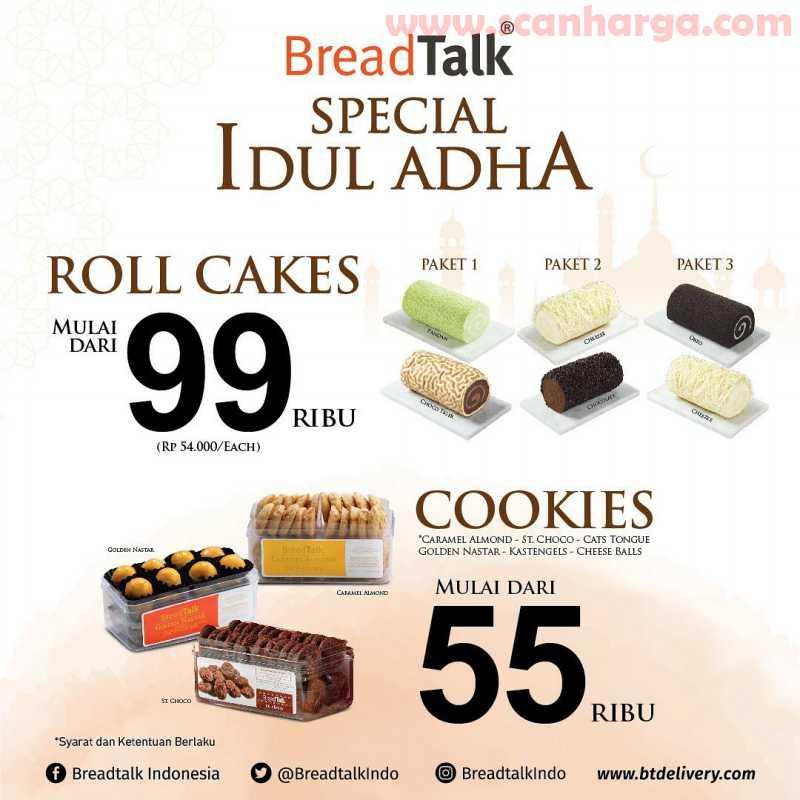 Breadtalk Special Idul Adha Periode 27 - 30 Juli 2020