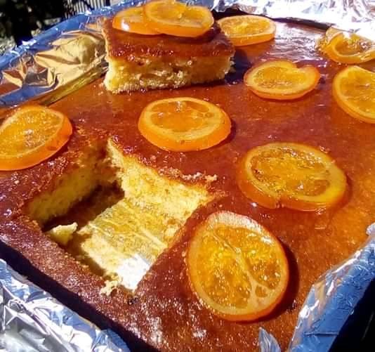 Νηστίσιμη πορτοκαλόπιτα
