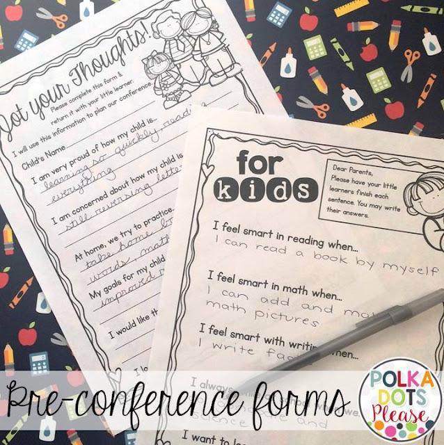 Tips for Parent Teacher Conferences - Polka Dots Please