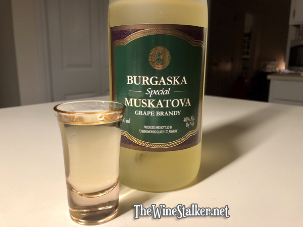 Burgaska Special Muskatova Grape Brandy