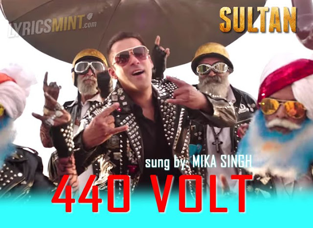 Sultan 440 Volt HD Video Lyrics Mp3 Songs | Latest Sultan Movie Songs