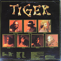 Tiger debut LP 1976, back