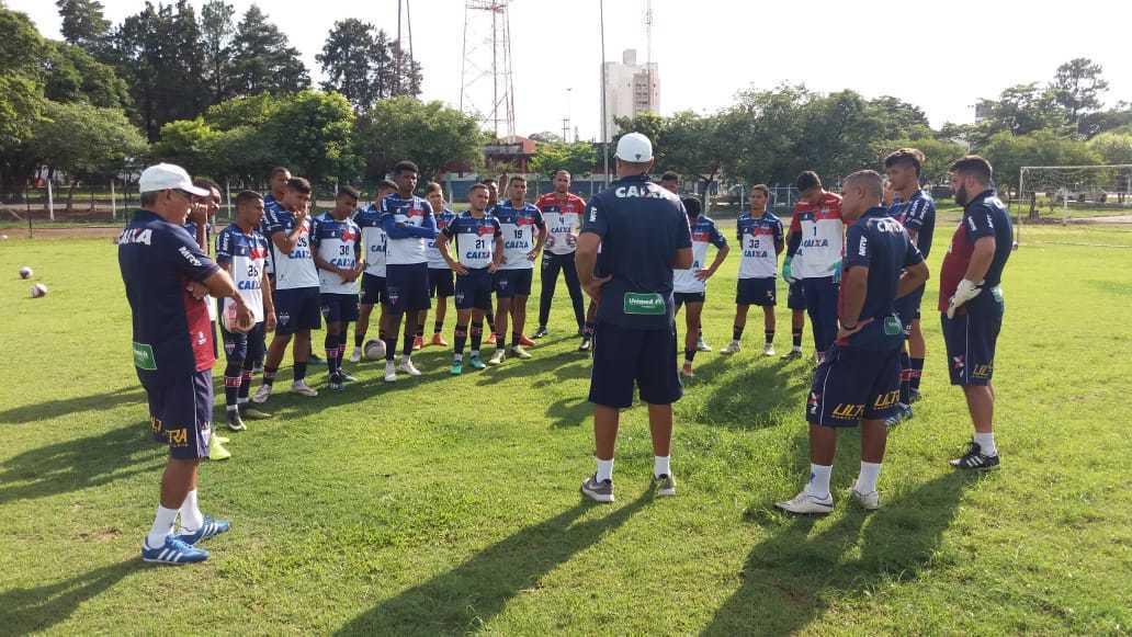 ce0ff9534a Copa São Paulo Jr. 2019  Após treinar em Indaiatuba