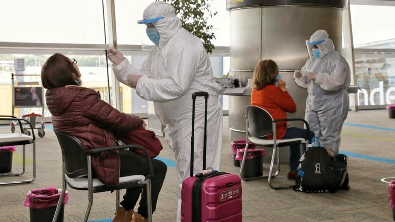 Confirmaron dos casos de coronavirus de la variante Delta en el Aeropuerto de Ezeiza