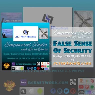 False Sense Of Security