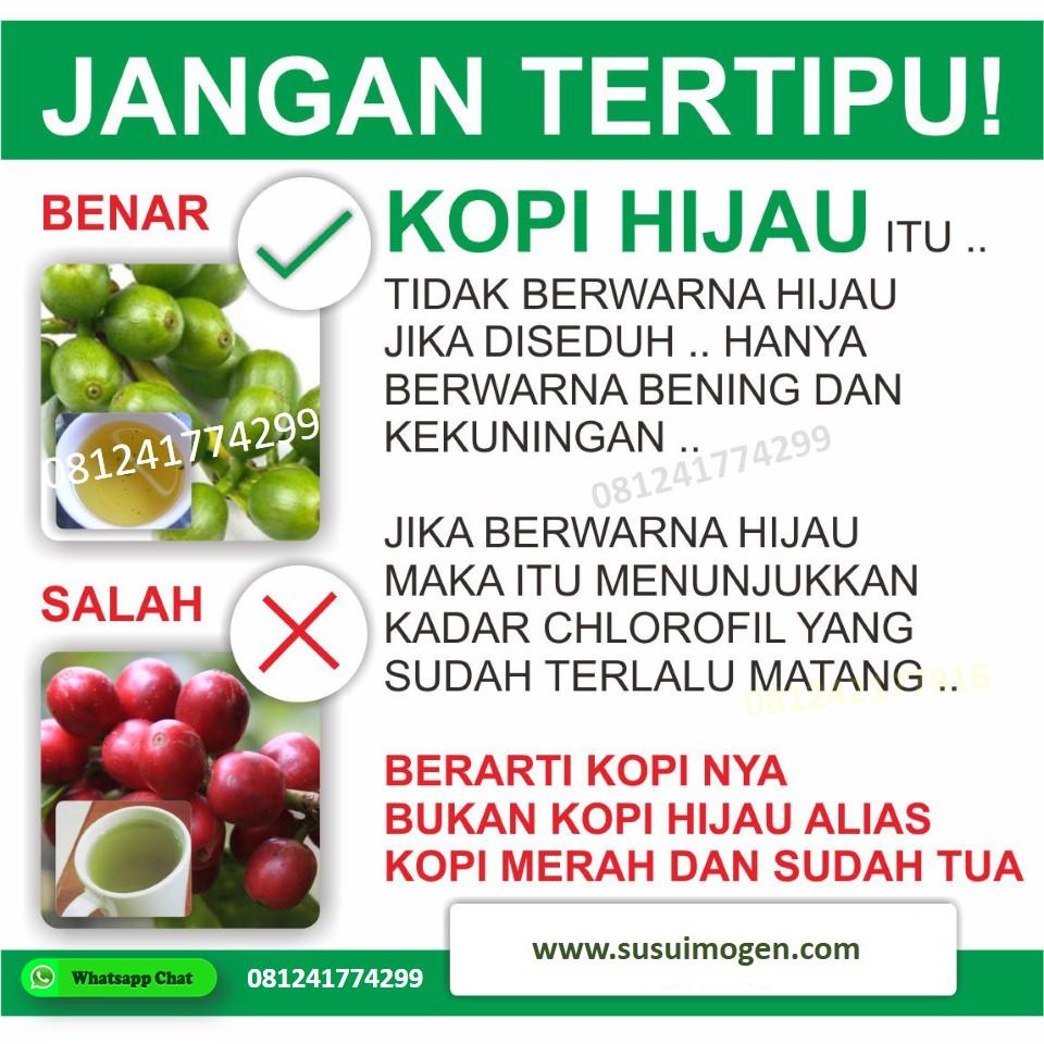 imogen green coffee asli