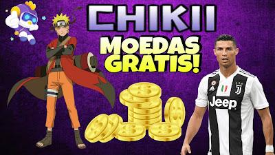 Chikii como ganhar moedas