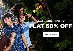 JACK & JONES Mens Clothing - Flat 60% Off
