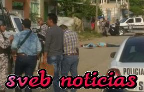 Ejecutan a dos hombres y una mujer este Domingo en Coatzacoalcos Veracruz
