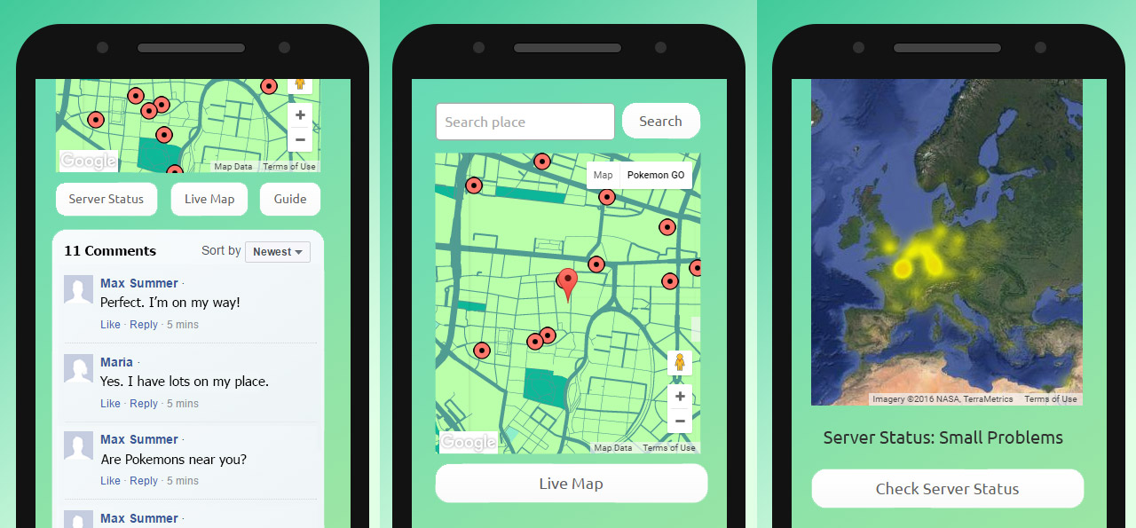 Help App for Pokemon GO with PokeStops and Gyms | Messenger