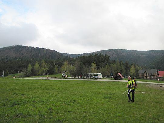 Przełęcz Rydza-Śmigłego (696 m n.p.m.).