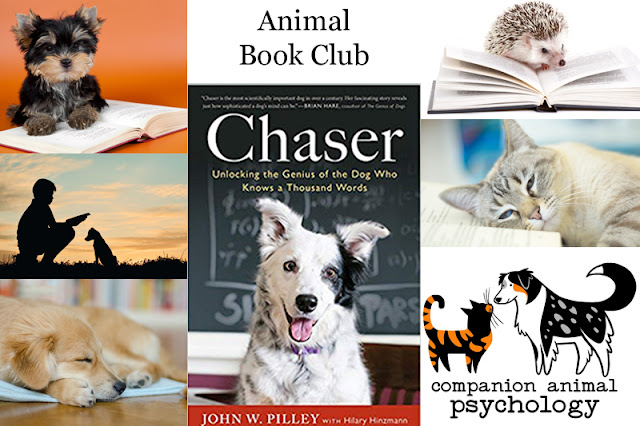 Chaser: Unlocking the Genius of the Dog Who Knows a Thousand Words is the Animal Book Club choice for October