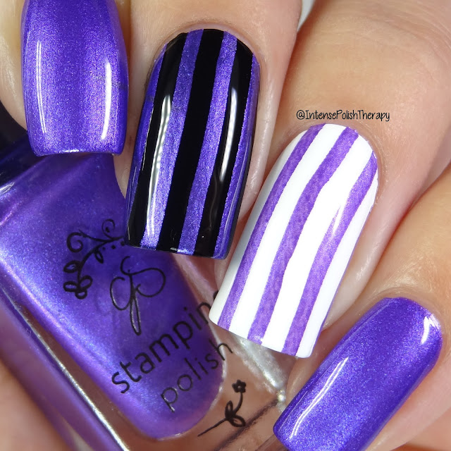 Clear Jelly Stamper - 030 Plum Crazy