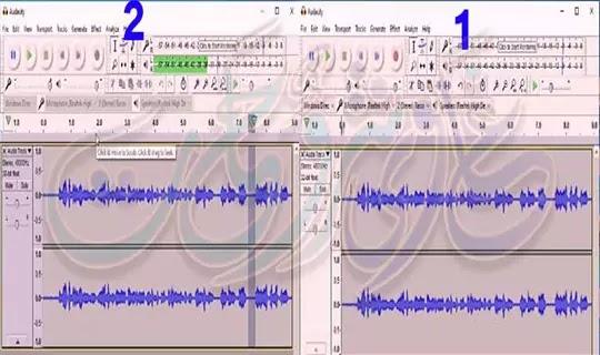 طريقة ازالة الضجيج من الصوت ببرنامج audacity