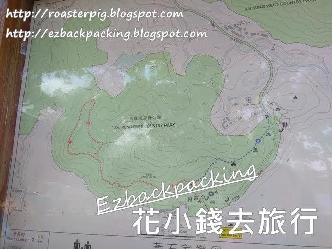黃石家樂徑地圖