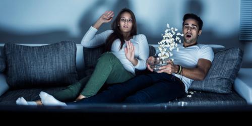 Nonton Film Horor Bikin Berat Badan Turun?