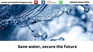 save water slogans 12