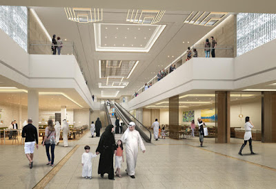 Abu Dhabi shopping mall