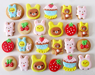Galletas decoradas kawaii