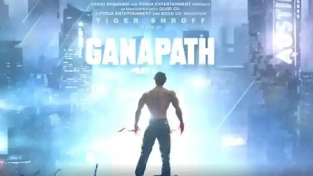 टाइगर श्रॉफ ने 'गणपत' नाम कि नई एक्शन फ्रेंचाइजी फिल्म का ऐलान किया।