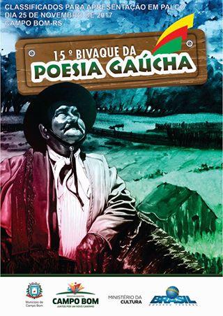 Poemas classificados para o 15º Bivaque da Poesia Gaúcha