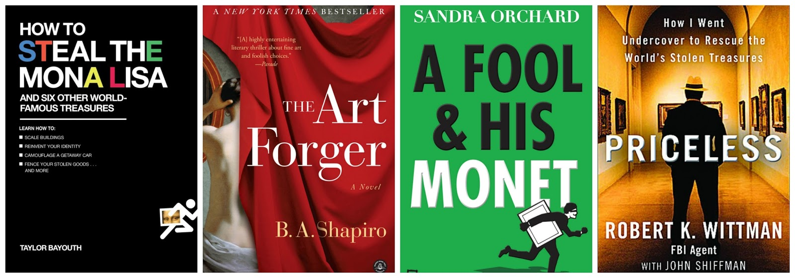books about art crime