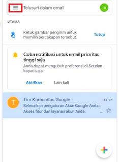cara menghapus email secara permanen