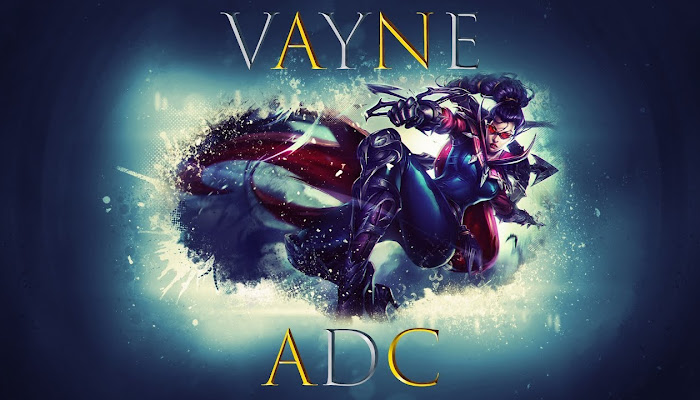 Vayne ADC Normal Game - League of Legends | LoL
