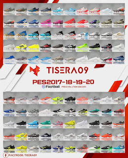 PES 2018 Boots Pack Vol. 12 By Tisera09