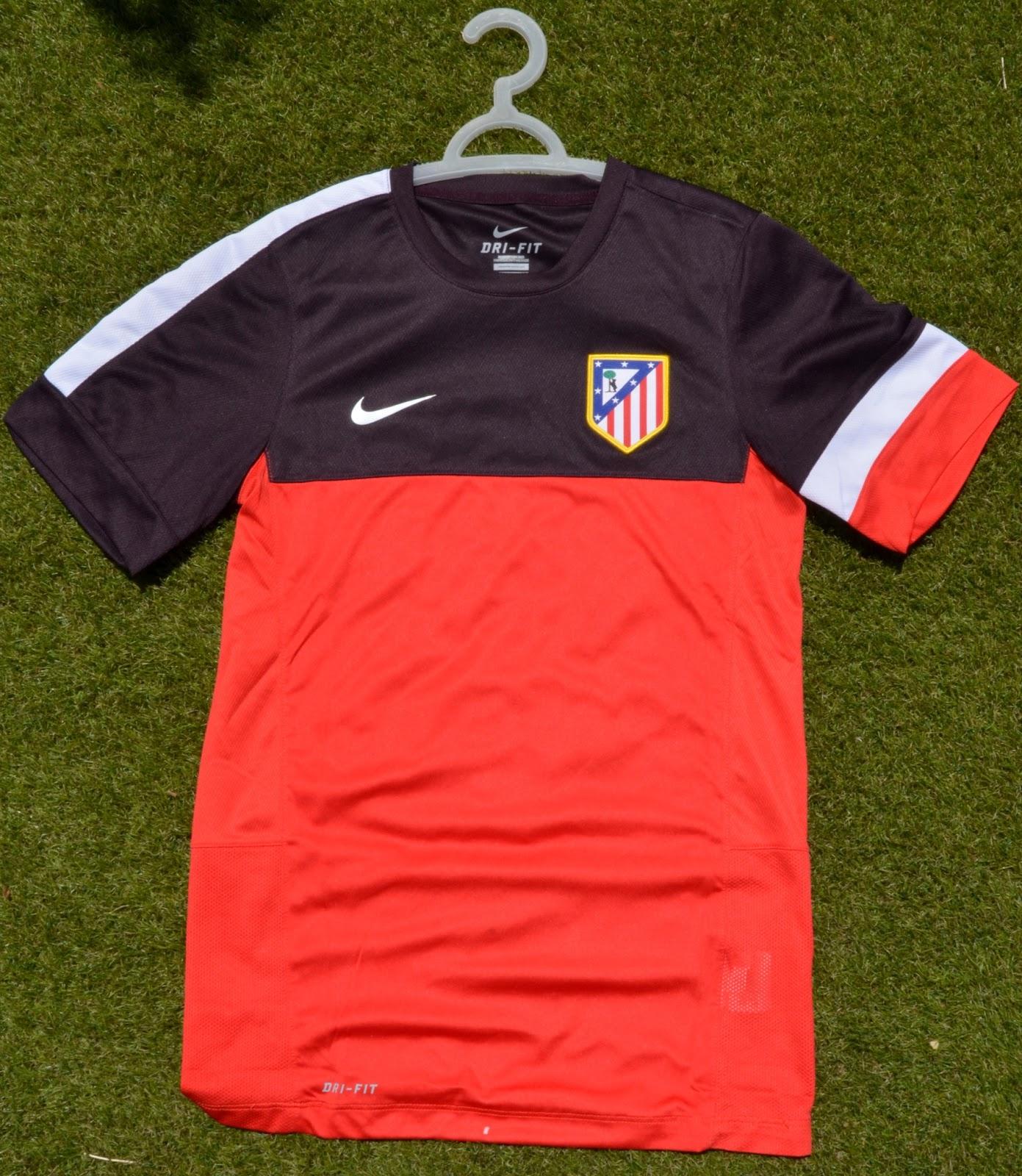 equipacion entrenamiento Atlético de Madrid nuevo 082fba10ecd3e