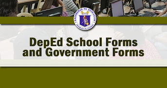 New Official Deped School Forms pursuant Deped Order 58, s