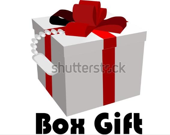 illustration graphics box gift