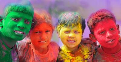 Holi Celebration in Dhanbad